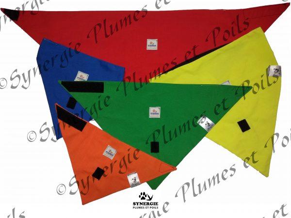 Matériel zoothérapie foulards éducatifs 2